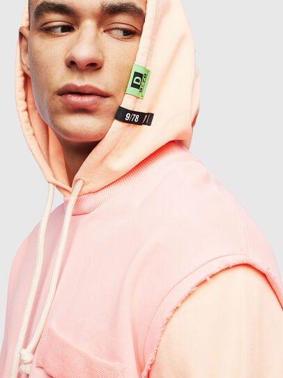 Diesel - S-CRAZY, Pink - Sweatshirts - Image 5
