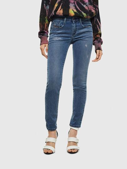 Diesel - D-Ollies JoggJeans® 069MC, Bleu moyen - Jeans - Image 1