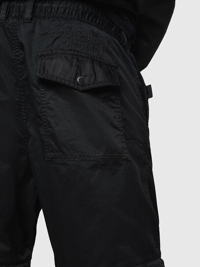 Diesel - P-CASHORT, Noir - Pantalons - Image 3