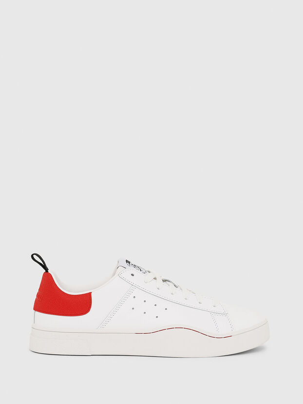 S-CLEVER LOW, Blanc/Rouge - Baskets