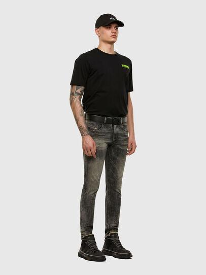 Diesel - D-Strukt 009EV, Noir/Gris foncé - Jeans - Image 5