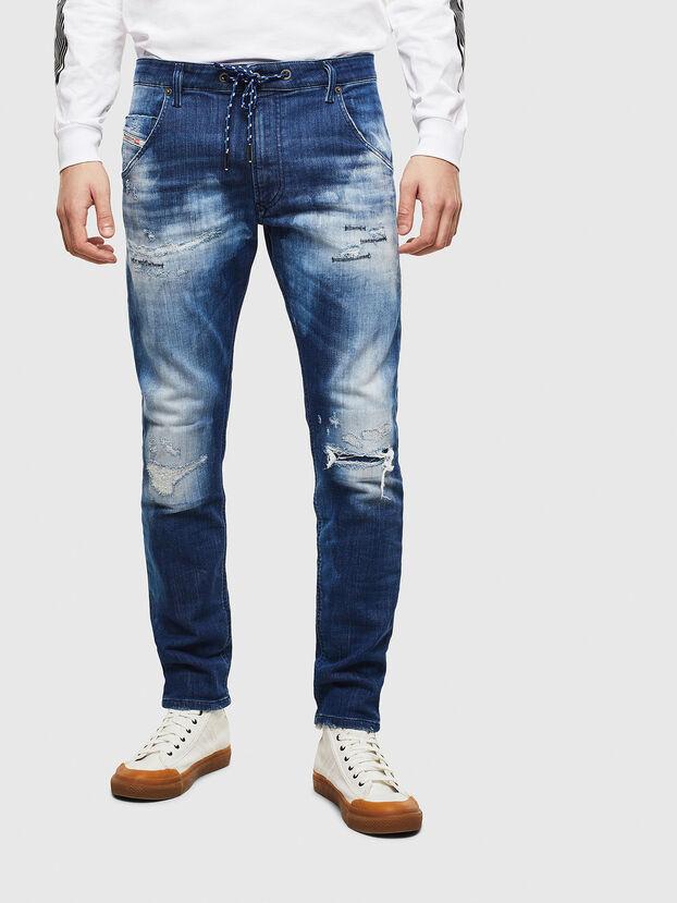 Krooley JoggJeans 0099S, Bleu Foncé - Jeans