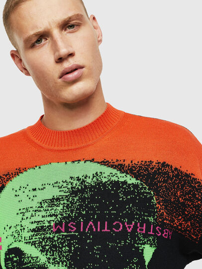 Diesel - K-MELTER, Multicolor/Black - Sweaters - Image 7