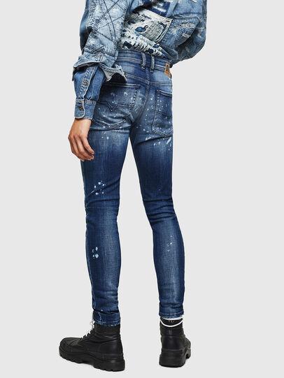 Diesel - Sleenker 0091Y, Bleu moyen - Jeans - Image 2