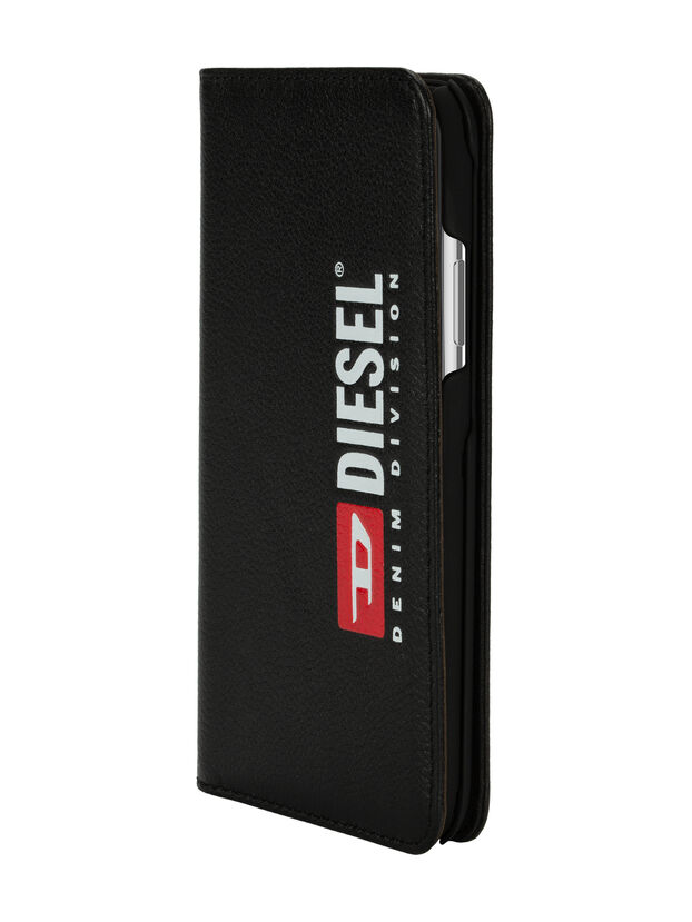 DIESEL 2-IN-1 FOLIO CASE FOR IPHONE XS MAX, Noir - Coques à rabat