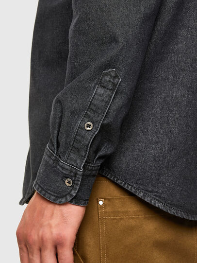Diesel - D-BILLY, Noir - Chemises en Denim - Image 4