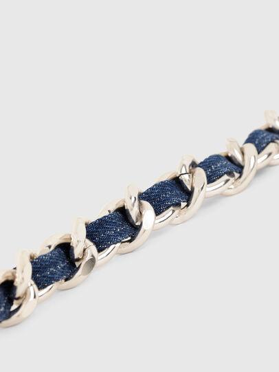 Diesel - B-CHAIN, Gold/Blue - Belts - Image 4