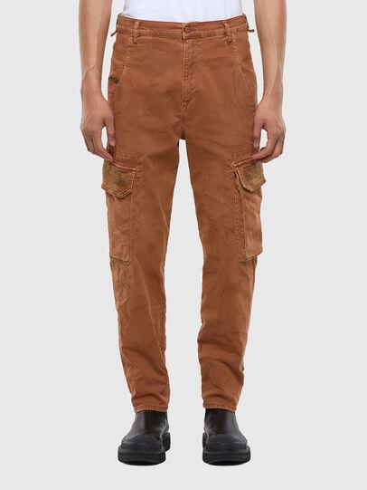 Diesel - D-Krett JoggJeans 069RJ, Marron Clair - Jeans - Image 1