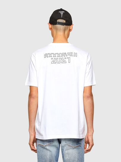 Diesel - CL-T-JUST-O1, Blanc - T-Shirts - Image 3