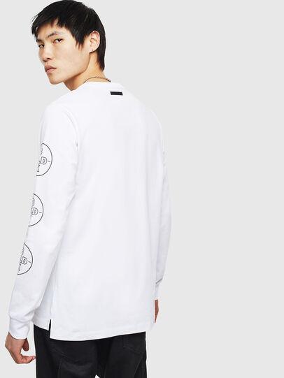 Diesel - T-GRANITE, Blanc - T-Shirts - Image 2