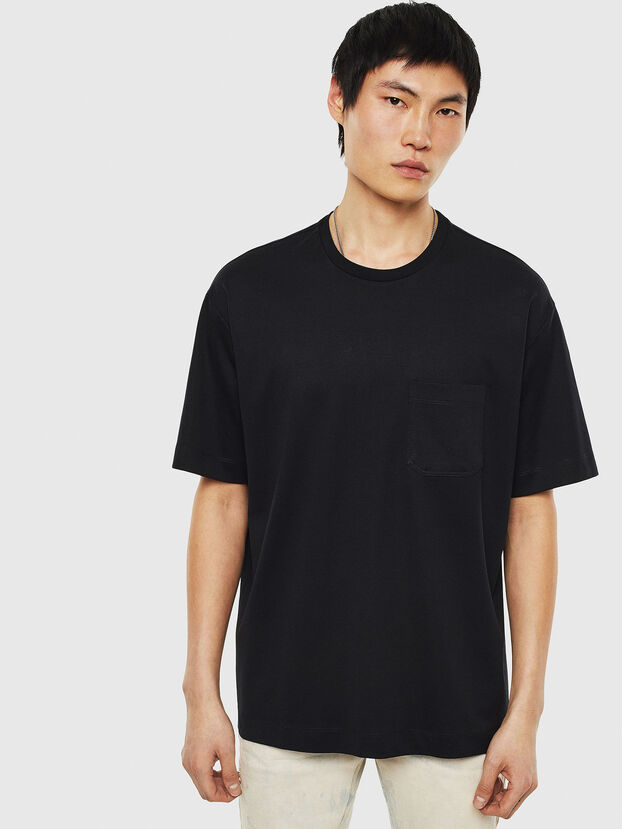 T-TIGE, Noir - T-Shirts