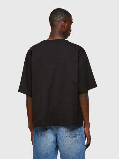 Diesel - T-DELPHI-E1, Noir - T-Shirts - Image 2