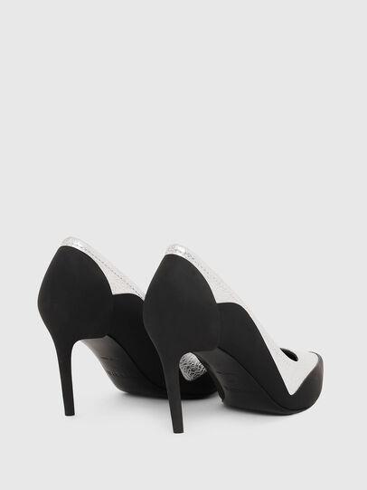 Diesel - D-SLANTY MHB, Noir/Blanc - Chaussures À Talon - Image 3