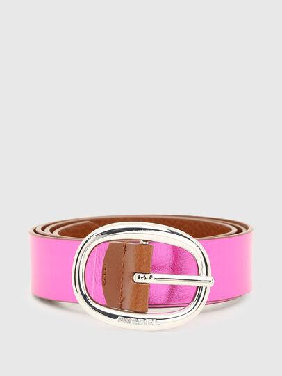 Diesel - B-ISIDE, Brown/Pink - Belts - Image 4