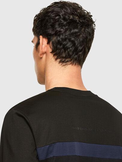 Diesel - T-LOUD, Noir - T-Shirts - Image 3