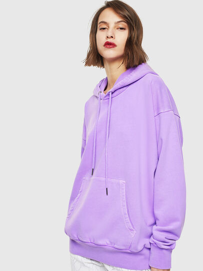 Diesel - S-ALBY-FLUO, Lilas - Pull Cotton - Image 2