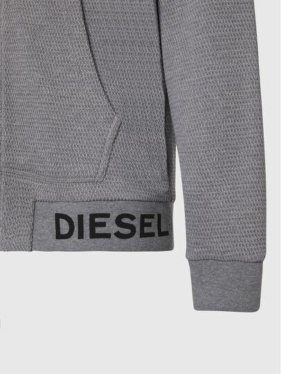 Diesel - S-ELECTRUM, Light Grey - Sweatshirts - Image 3