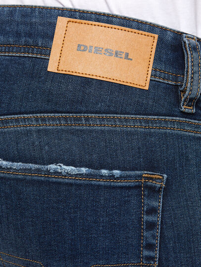 Diesel - Sleenker 009DK, Bleu Foncé - Jeans - Image 4