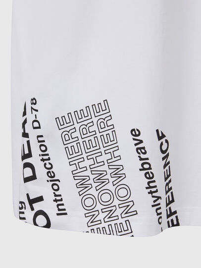 Diesel - T-JUST-FOLDED, Blanc - T-Shirts - Image 5