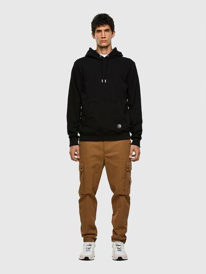 Diesel - S-GIRK-HOOD-MOHI, Black - Sweatshirts - Image 4