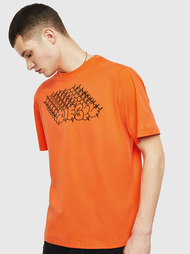 T-JUST-T20, Orange - T-Shirts