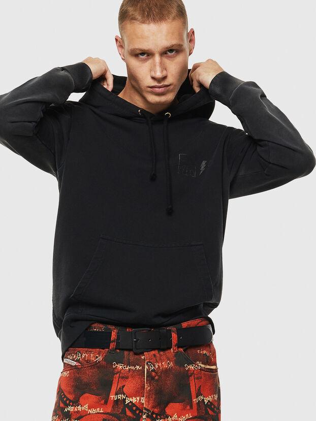 S-GIRK-HOOD-SUN, Black - Sweatshirts