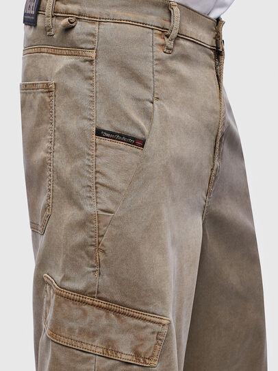 Diesel - D-KRETT-SHORT JOGGJEANS, Beige - Shorts - Image 3