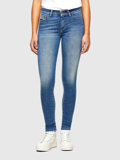 Diesel - Slandy 009QS, Bleu Clair - Jeans - Image 1
