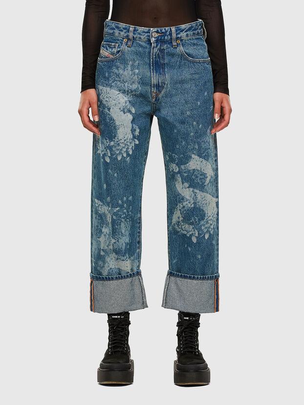 D-Reggy 0079H, Bleu moyen - Jeans