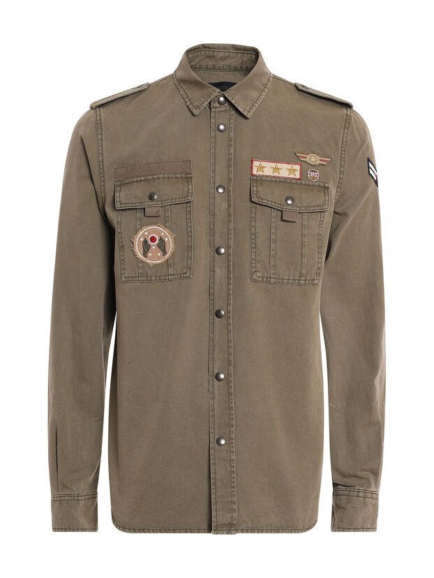 SILITARY, Military Green - Shirts
