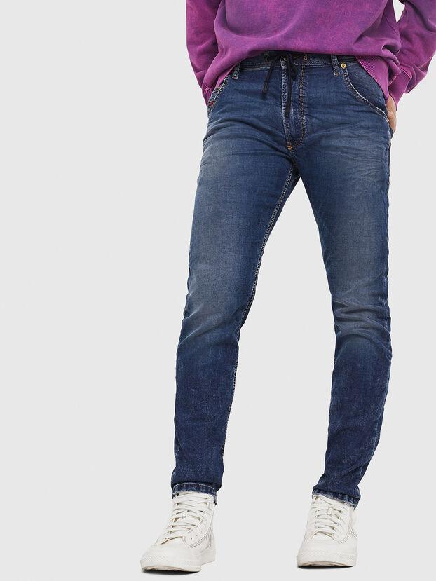Krooley JoggJeans 069FG, Bleu Foncé - Jeans