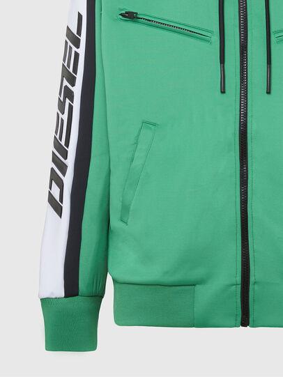 Diesel - S-STEEL, Green - Sweatshirts - Image 5