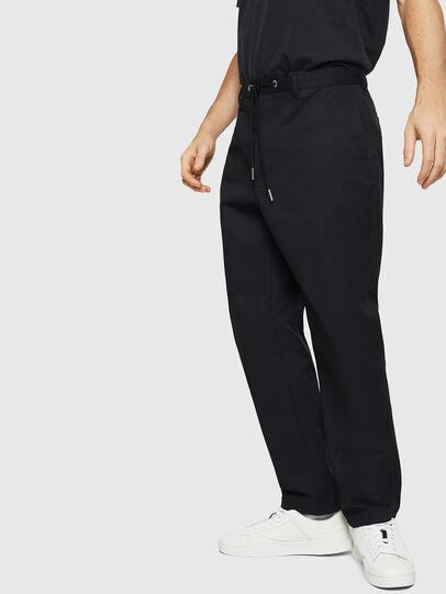 Diesel - P-MORGY, Noir - Pantalons - Image 4