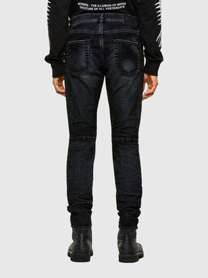 Diesel - D-Strukt JoggJeans® 069TG, Noir/Gris foncé - Jeans - Image 2