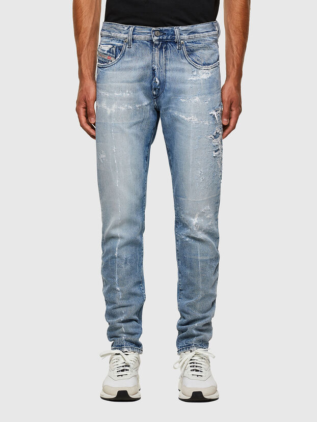 D-Strukt 009KH, Bleu Clair - Jeans