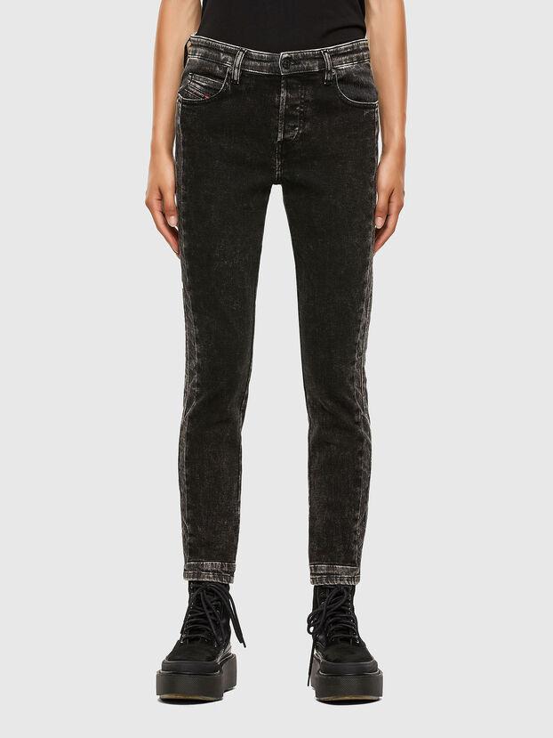 Babhila 009FH, Noir/Gris foncé - Jeans