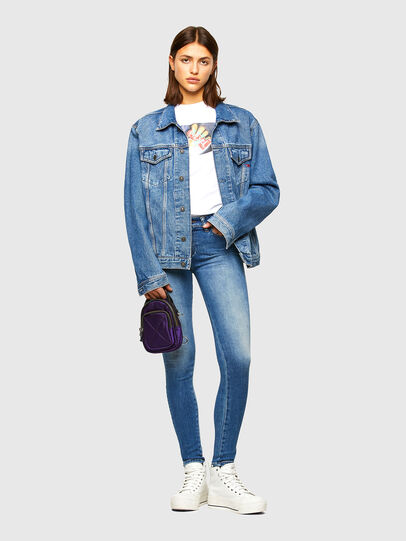 Diesel - Slandy 009QS, Bleu Clair - Jeans - Image 5