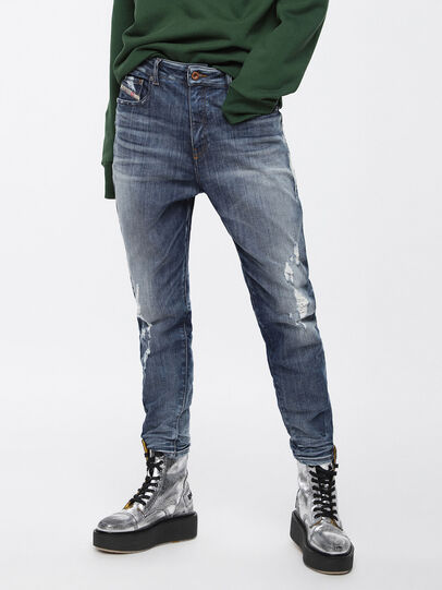 Diesel - Candys JoggJeans 084YH, Bleu moyen - Jeans - Image 1