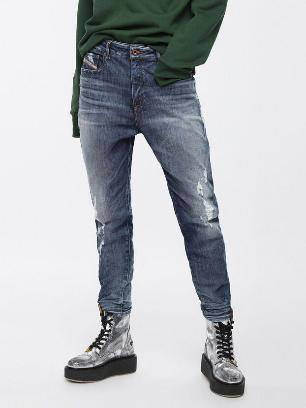 Candys JoggJeans 084YH, Bleu moyen - Jeans