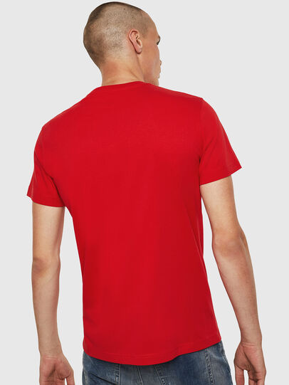 Diesel - T-DIEGO-B6, Rouge Flamme - T-Shirts - Image 2