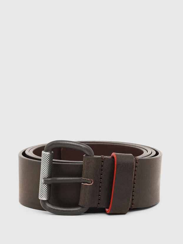 B-DIVISION, Dark Brown - Belts