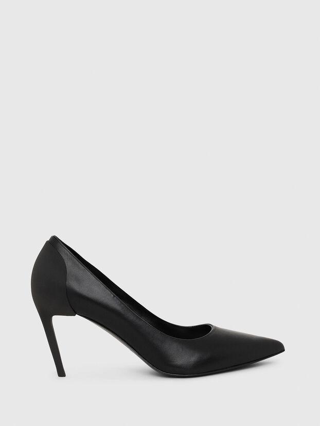 D-SLANTY MH, Noir - Chaussures À Talon