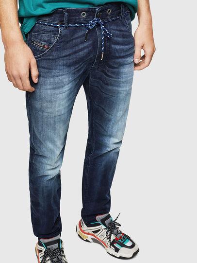 Diesel - Krooley JoggJeans 069IE, Dark Blue - Jeans - Image 4