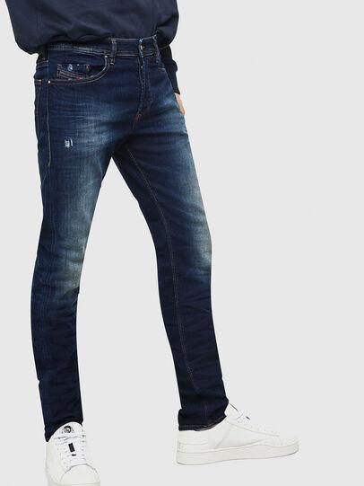 Diesel - Buster 069BM, Bleu Foncé - Jeans - Image 4