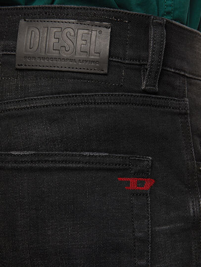 Diesel - D-Strukt 0098B, Noir/Gris foncé - Jeans - Image 4