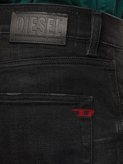 Diesel - D-Strukt 0098B, Black/Dark Grey - Jeans - Image 4