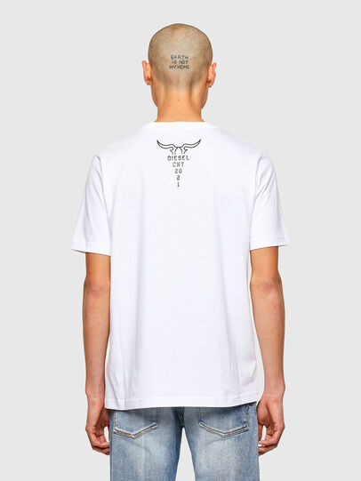 Diesel - CL-T-JUST-O, Blanc - T-Shirts - Image 3
