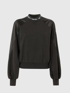 F-TULIP, Noir - Pull Cotton