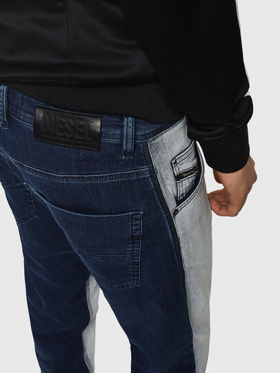Diesel - Krooley JoggJeans 0870R, Bleu moyen - Jeans - Image 3