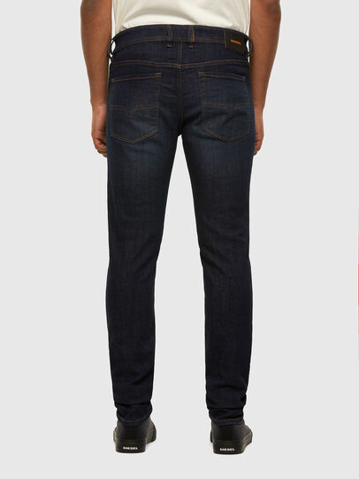 Diesel - Sleenker 009DI, Bleu Foncé - Jeans - Image 2